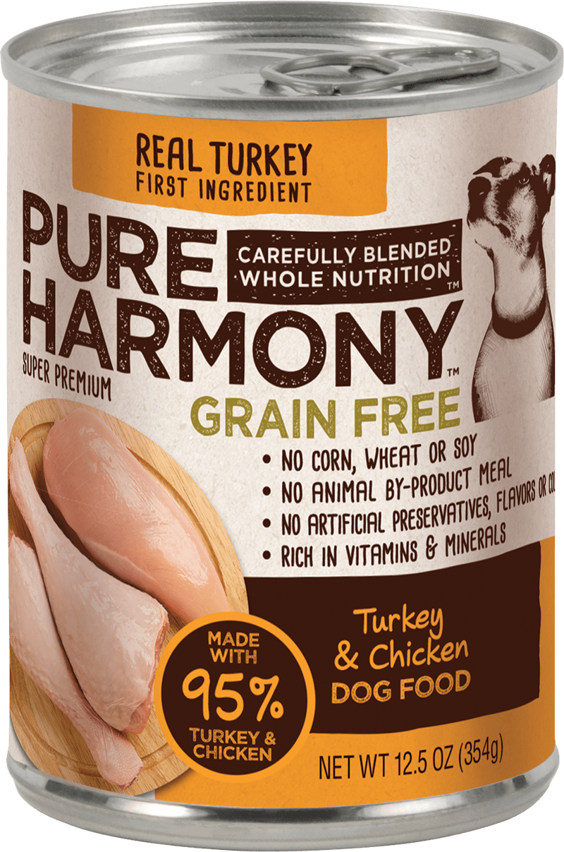Pure Harmony Turkey & Chicken Canned Dog Food
