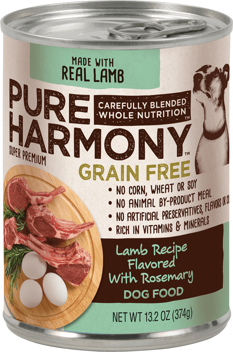 Pure Harmony Lamb Recipe Flavored with Rosemary Canned Dog Food