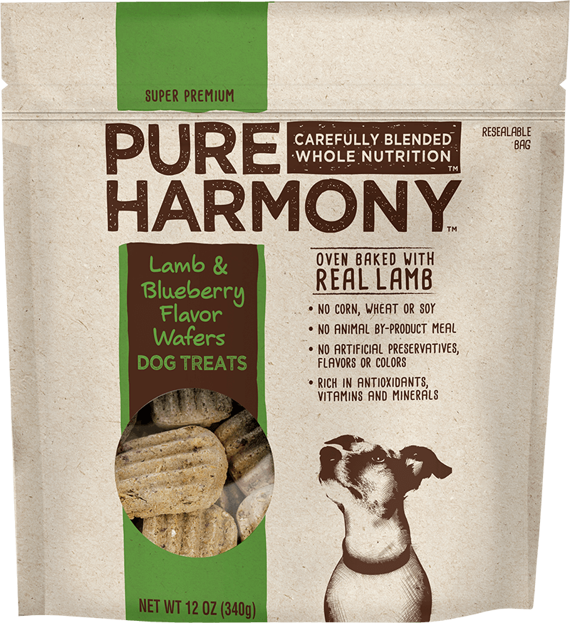 Pure Harmony Lamb & Blueberry Flavor Wafers Dog Treats