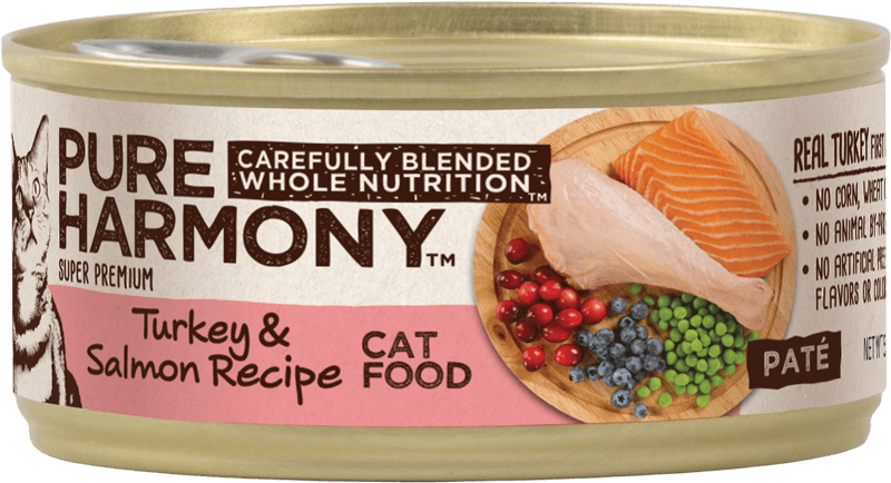 Pure Harmony Turkey & Salmon Recipe Canned Cat Food
