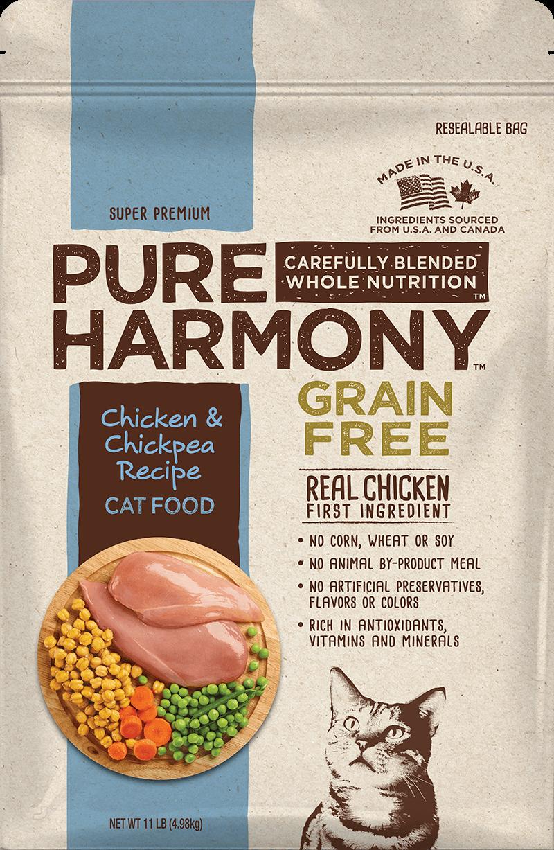 Pure Harmony Chicken & Chickpea Recipe Dry Cat Food