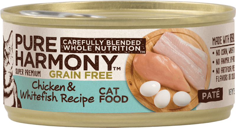 Pure Harmony Chicken & Whitefish Recipe Canned Cat Food