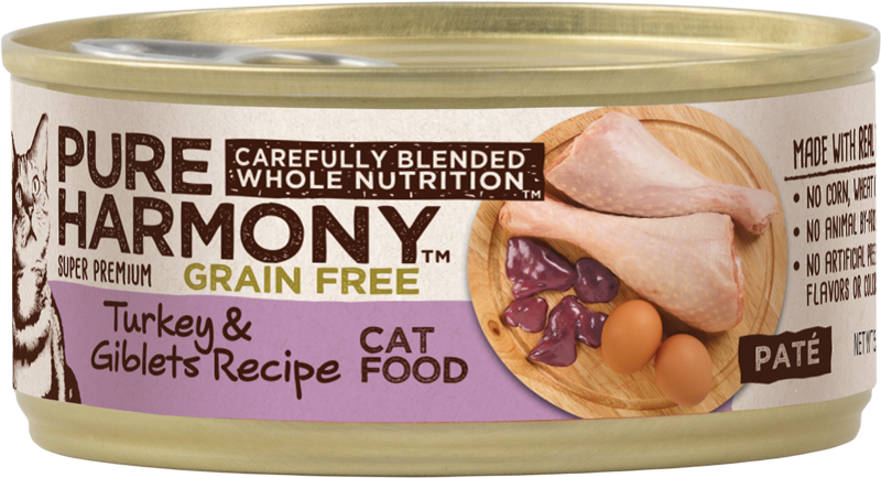 Pure Harmony Turkey & Giblets Recipe Canned Cat Food