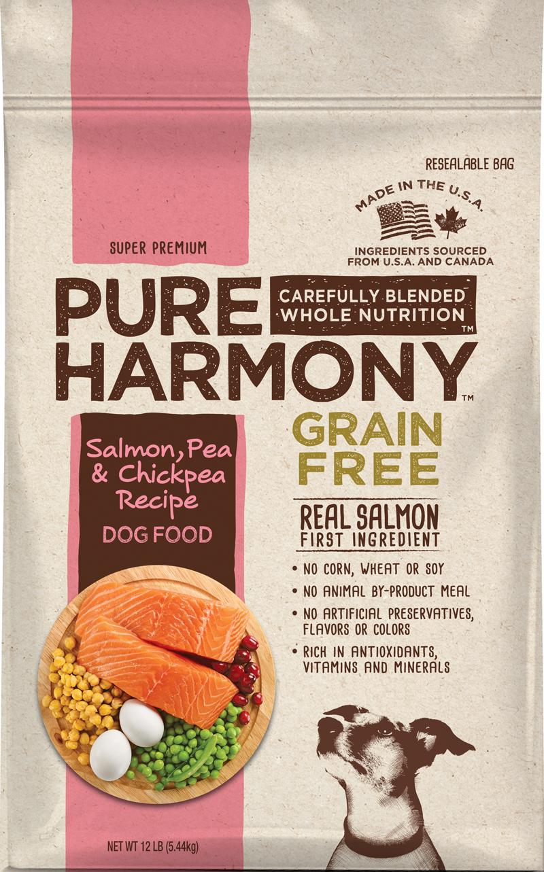 Pure Harmony Salmon, Pea & Chickpea Recipe Dog Food