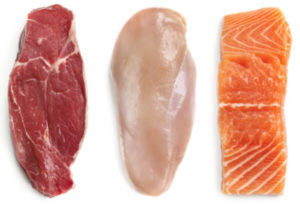 Our Food Has one hundred percent real meat