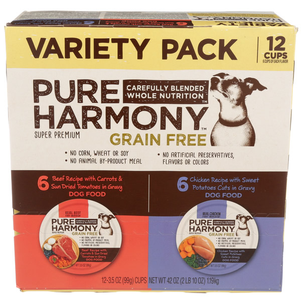 Big Variety Pack Of Dog Food Photo