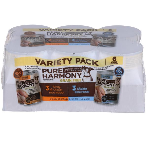 Medium Variety Pack Of Dog Food Photo