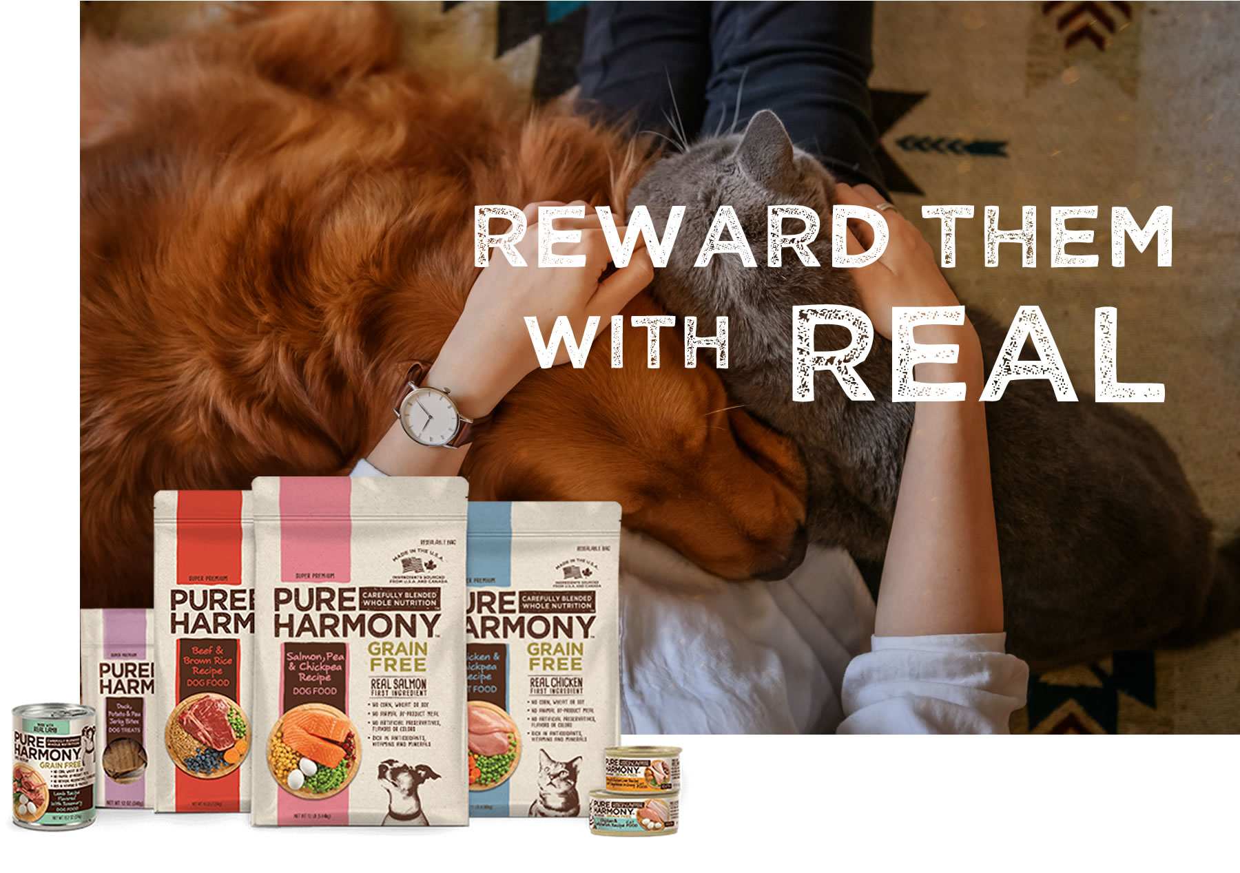Reward Your Pets With Real Food